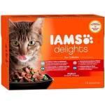 Iams Delights Katzennassfutter See Collection in Gelee 12 x 85 g (GLO629203896)