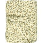 Ib Laursen Tagesdecke »Decke Quilt Tagesdecke Überwurf Hellgelb Blumen 180x130cm 0724-00«