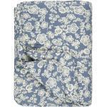 Ib Laursen Wohndecke »IB Laursen Quilt Blau mit Blumen«