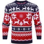 Rundhals-Ausschnitt Weihnachtspullover zu Weihnachten für Herren für den Winter