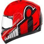Icon Alliance Overlord Helm, rot, Größe 2XL, rot, Größe 2XL