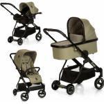 iCoo Kombi-Kinderwagen Acrobat XL Plus Trio Set Diamond Olive, 15 kg, ; Kinderwagen grün Kinder Kombikinderwagen Buggies