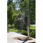 Ideal Elba Modell 70 Gartendusche für Kalt- und Warmwasser mit Kopf-, Körper- und Handdusche