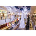 Illuminierter LED-Weihnachtsbaum 'Manhattan' - silber