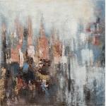 ImageLand Gemälde Abstrakte Welten, 115 x 115 cm Acryl auf Leinwand