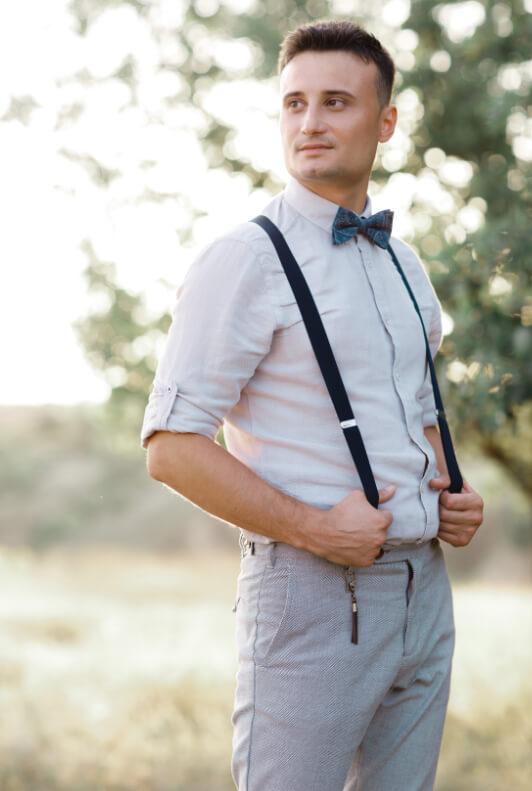 Männer sportlich-elegantes outfit Smart Casual