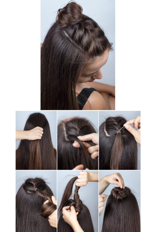 Frisuren offene haar Einfache Offene