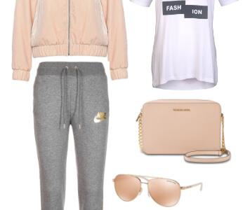 Outfit mit Jogginghose