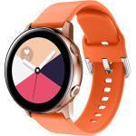 iMoshion Silikonband für die Samsung Galaxy Watch 40/42mm / Active 2 42/44mm - Orange