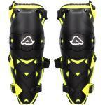 Impact EVO 3.0 Knee Protector Knieschützer Knieprotektoren schwarz/gelb, Farbe: black/yellow, Größe: One size