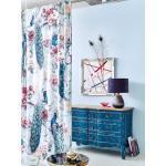 IMPRESSIONEN living Vorhang-Set, 2-tlg., Samt multicolor
