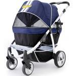 InnoPet® buggy Retro Hundebuggy Hundewagen Pet Stroller mit Aluminium Rahmen- IPS-06/B - Blau