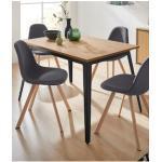 INOSIGN Esstisch Malu, aus massivem Kiefernholz, in unterschiedlichen Tischbreiten erhältlich beige Inosign Stühle Tische Premium-Möbel