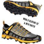 Inov-8 Schuh X-Talon™ 212 Schuhgröße - 33, Schuhkategorie - Berglauf & Trailrunning, Schuhverschluss - Schnürer, Schuhfarbe - Black - Amber,