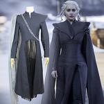 Inspiriert von Game of Thrones Drachenmutter Daenerys Targaryen Anime Cosplay Kostüme Japanisch Cosplay Kostüme Outfit Für Damen Lightinthebox