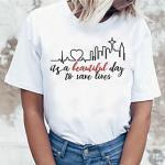Inspiriert von Graue Anatomie Cosplay Anime Zeichentrick Polyester / Baumwollmischung Druck Harajuku Grafik Kawaii T-shirt Für Damen / Herren Lightinthebox
