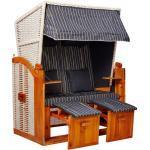 intergrill Strandkorb »Strandschönheiten Doris Ostsee Strandkorb 2-Sitzer«, BxTxH: 120x80x160 cm, Gartenmöbel