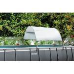 Intex Pool Sonnendach für Stahlrohrbecken bis 732cm, weiß