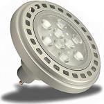 Isolicht ECO ES111/QRB 111 GU10 LED Leuchtmittel, LED Strahler, Reflektorlampe, Ersatz für Halogenlampe, LED Spot dimmbar, 12 Watt, warmweiss, Einbaustrahler, 1100 Lumen [Energieeffizienzklasse A+]