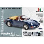 ITALERI 510003679 1:24 Porsche 911 Carrera Cabrio