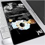 ITBT Mauspad Death Note XXL Gaming Mauspad, 900x400mm Anime Mousepad, Höchstmaß an Präzision, extra stark vernähter Rand, gummierte Unterseite, Desktop Computer, A