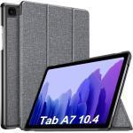 IVSO Tablet-Hülle »Hülle für Samsung Galaxy Tab A7 T505/T500/T507 10.4 Zoll 2020,« Samsung Galaxy Tab A7 T505/T500/T507 10.4 Zoll 2020 10.4 inch, Schlank Slim Hülle Schutzhülle Hochwertiges PU mit Standfunktion, Gray
