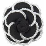 J.Jayz Brosche »Ansteckblüte, Haarklammer« (1-tlg), schwarz