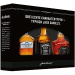Jack Daniel's Old No. 7 Markenfamilien Geschenkset (Gentleman Jack, Single Barrel) zur Verkostung - limitiert Whisky (3 x 0.05 l)