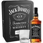 Jack Daniel's Tennessee Whisky in Metallkassette mit 2 Gläsern (1 x 0.7 l)