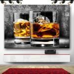 JACK DANIELS Whisky Bar & Club Bild auf Leinwand Abstrakt Wandbild XXXL 1212A
