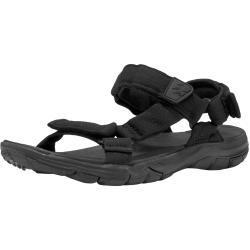 Jack Wolfskin »Seven Seas 2 Sandal W« Outdoorsandale, schwarz, schwarz