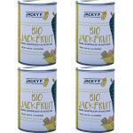 Jacky F. Bio Jackfruit, Junge Jackfrucht in Salzlake, 4er Pack (4 x 400 g Dose)