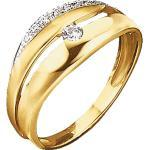 Jacques Lemans Ring »375/- Gold«, gelb, gelb