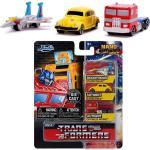 Jada, Nano Cars, Transformers 3er Pack B (4cm)