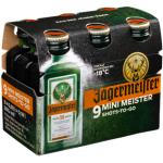 Jägermeister 9 x 0,02 Liter