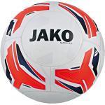 JAKO Match 2.0 Trainingsball Weiss Orange Blau - 2329 5