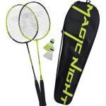 """JAKO-O Badminton-Set """"Magic Night"""" LED, schwarz"""
