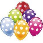 JAKO-O Luftballons Punkte, bunt