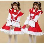 Japanisch Maid Outfits Kellnerin Kostüm Kawaii Lolita Kleid Cosplay Uniform