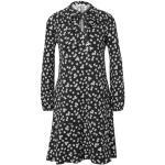 Reduzierte Schwarze TCHIBO Jerseykleider mit Volants ohne Verschluss für Damen für den Sommer