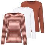 JETTE Langarm-Shirt, 3er-Pack