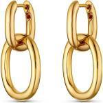 JETTE Paar Creolen »32013577«, goldfarben, goldfarben