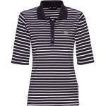 JETTE Poloshirt »Jersey-Poloshirt«, blau, Marine/Weiß