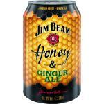 Jim Beam Honey & Ginger Ale Dose 0,33 l