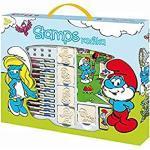 Jiri Models 2044401 - Kinderstempel Im Box - Die Schlümpfe