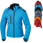 Wasserdichte Atmungsaktive James & Nicholson Outdoorjacken & Funktionsjacken für Damen für den Winter