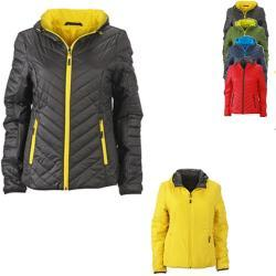 JN1091 James+Nicholson Ladies Lightweight Jacket