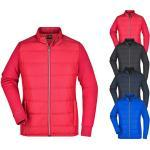 JN1123 James+Nicholson Ladies' Hybrid Sweat Jacket