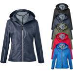 Wasserdichte Atmungsaktive James & Nicholson Stehkragen 3 in 1 Jacken & Doppeljacken mit Reißverschluss schmutzabweisend für Damen für den Winter