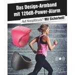 JOKA international Sportuhr »Alarm Armband Safe by Gaia, kirschrosa«